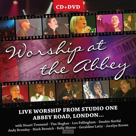 Worship At The Abbey - DVD + CD - Various Artists