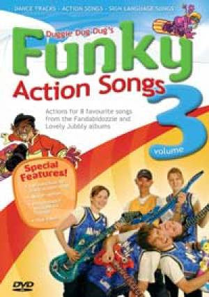 Doug Horley - Duggie Dug Dug's Funky Action Songs Vol 3 - DVD