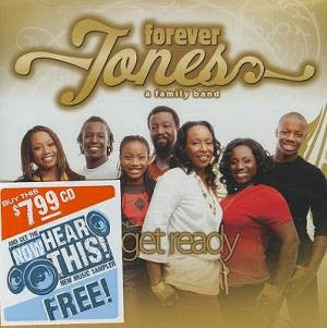 Forever Jones - Get Ready - CD