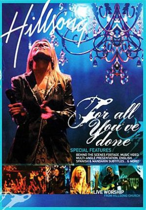 Hillsong Live - For All You've Done  - DVD