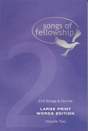 Songs Of Fellowship - Songs Of Fellowship Words Edition Book 2 Large Print - Songbook