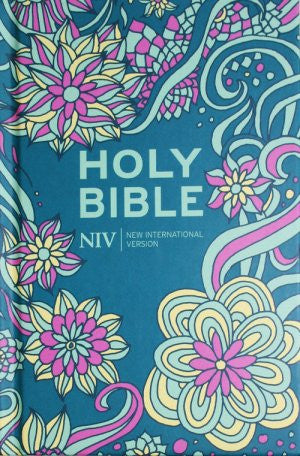 NIV Pocket Floral Hardback Bible   9781444701609