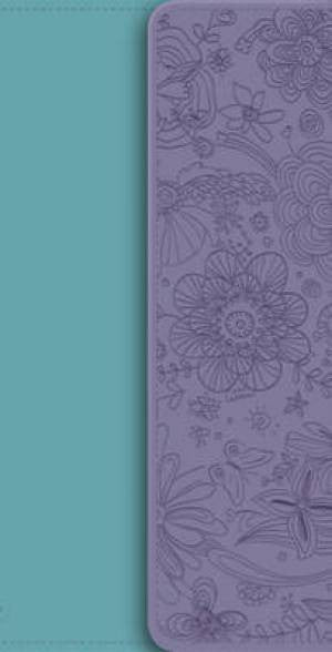 NIV Diary Turquoise/Purple Soft-Tone Bible With Clasp 9781444701777