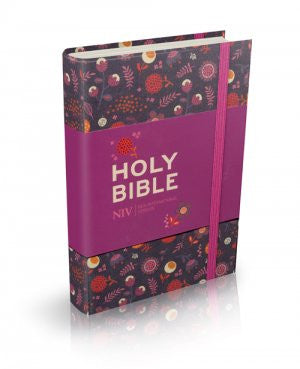 NIV Pocket Floral Notebook Bible  9781444702767