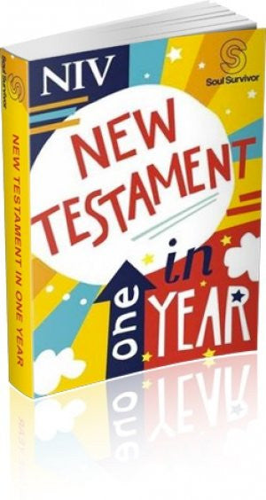 9781444796797  NIV Soul Survivor New Testament In One Year Paperback