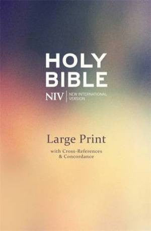 NIV Large Print Single Column Deluxe Reference Bible  9781473603486