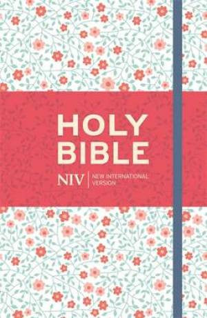 9781473618961 NIV Thinline Floral Cloth Bible
