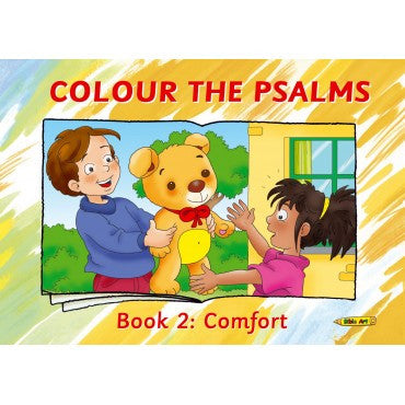Colour The Psalms Book 2: Comfort