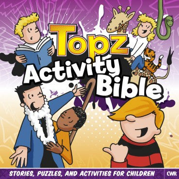 Topz Activity Bible Alexa Tewkesbury