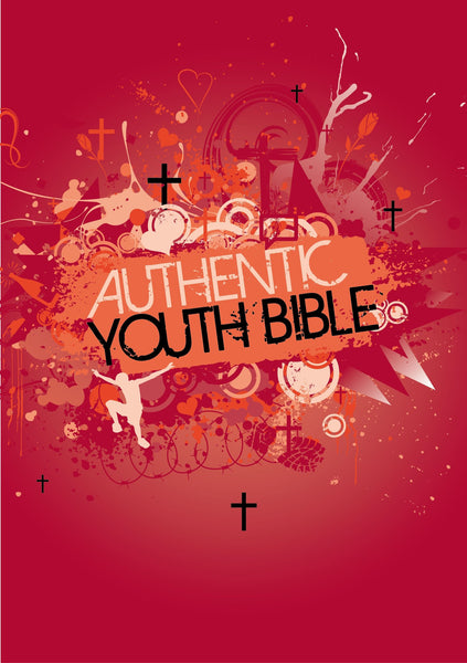 ERV Authentic Youth Bible - Red