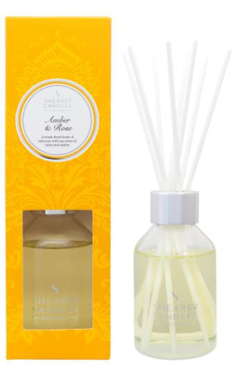 Amber & Rose Scented Room Diffuser