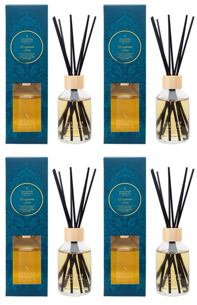 Cinnamon Spice Scented Room Diffuser 4 Pack