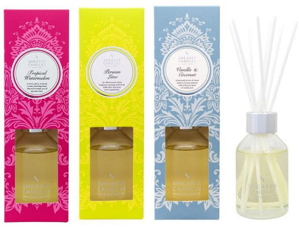 Christmas Reed Diffuser Collection - Persian Lime, Tropical Watermelon, Vanilla and Coconut