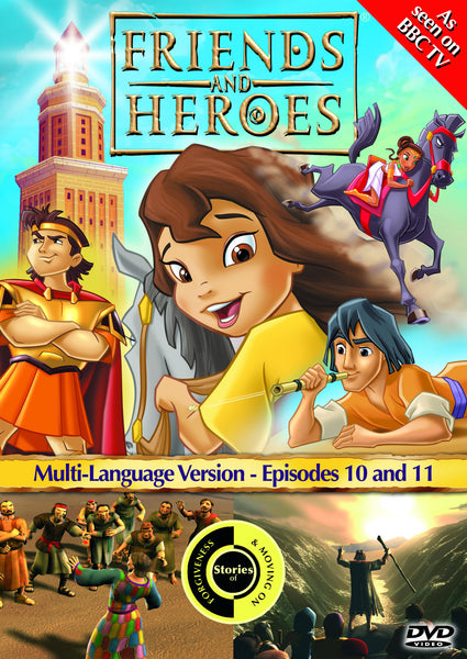 Friends and Heroes Series 1, Episodes 10-11 DVD