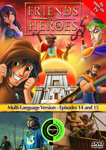 Friends and Heroes Series 2, Episodes 14-15 DVD