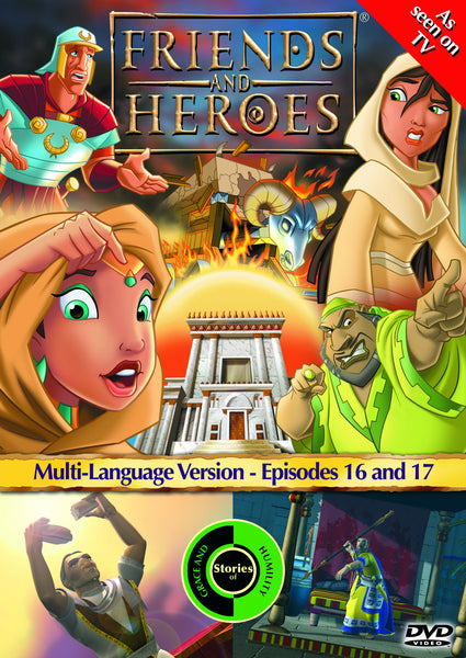 Friends and Heroes Series 2, Episodes 16-17 DVD