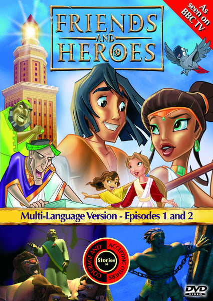Friends and Heroes Series 1, Episodes 1-2 DVD