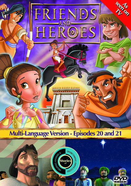 Friends and Heroes Series 2, Episodes 20-21 DVD