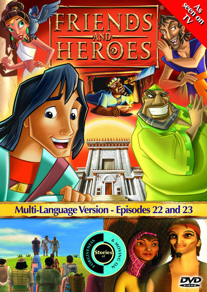 Friends and Heroes Series 2, Episodes 22-23 DVD