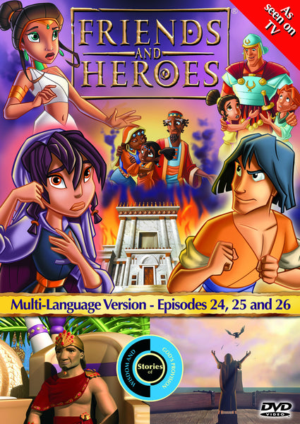 Friends and Heroes Series 2, Episodes 24-26 DVD