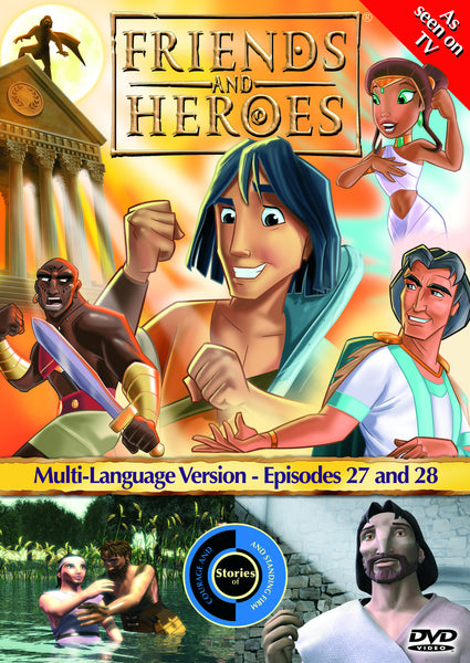 Friends and Heroes Series 3, Episodes 27-28 DVD