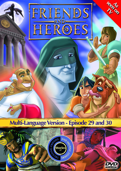Friends and Heroes Series 3, Episodes 29-30 DVD