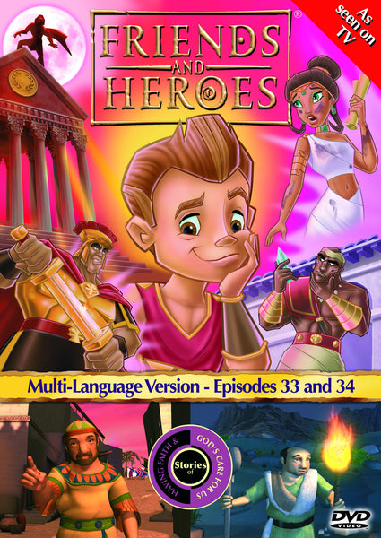 Friends and Heroes Series 3, Episodes 33-34 DVD