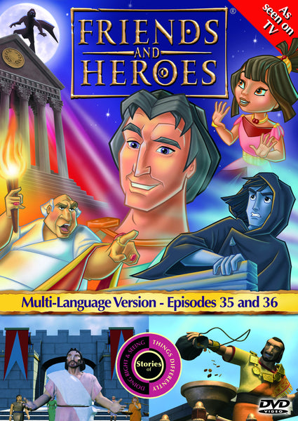 Friends and Heroes Series 3, Episodes 35-36 DVD