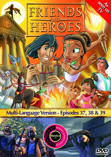 Friends and Heroes Series 3, Episodes 37-39 DVD