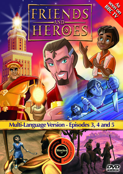 Friends and Heroes Series 1, Episodes 3-5 DVD