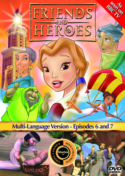 Friends and Heroes Series 1, Episodes 6-7 DVD