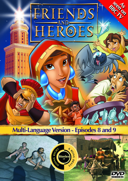 Friends and Heroes Series 1, Episodes 8-9 DVD