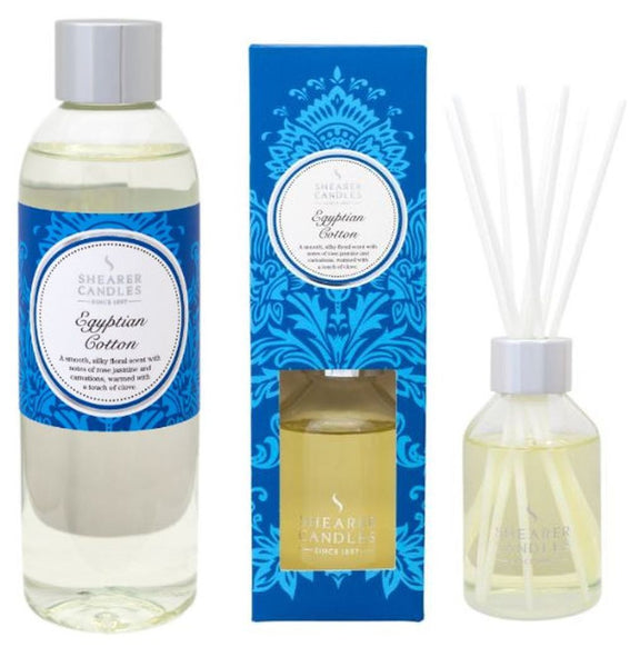 Egyptian Cotton Scented Room Diffuser and Refill
