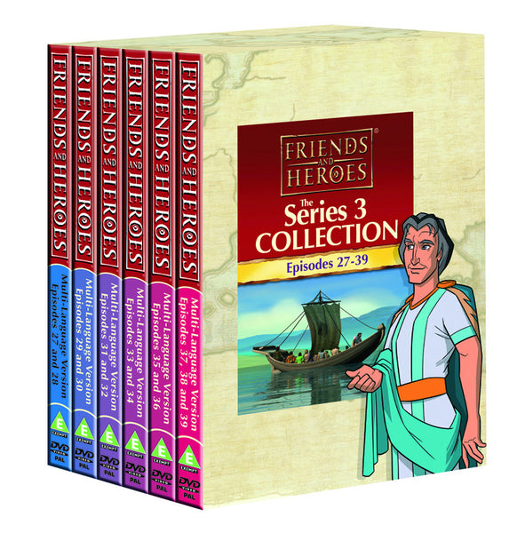 Family Pack DVDs: Series 3 (Episodes 27-39) - Rome