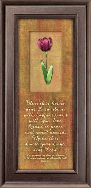 Satin Petal Series - Bless This House