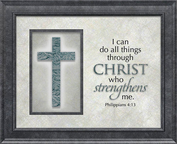 The Cross Series Plaque - I Can Do All Things