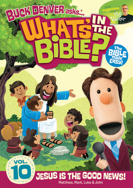 Buck Denver Asks... What's in the Bible? Volume 10 DVD