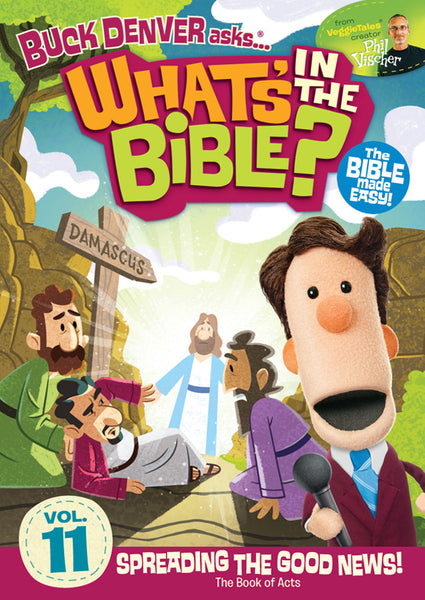 Buck Denver Asks... What's in the Bible? Volume 11 DVD
