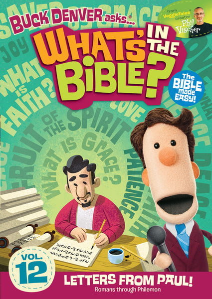 Buck Denver Asks... What's in the Bible? Volume 12 DVD