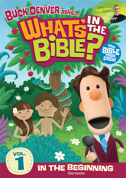 Buck Denver Asks... What's in the Bible? Volume 1 DVD