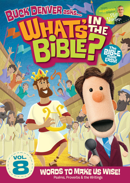 Buck Denver Asks... What's in the Bible? Volume 8 DVD
