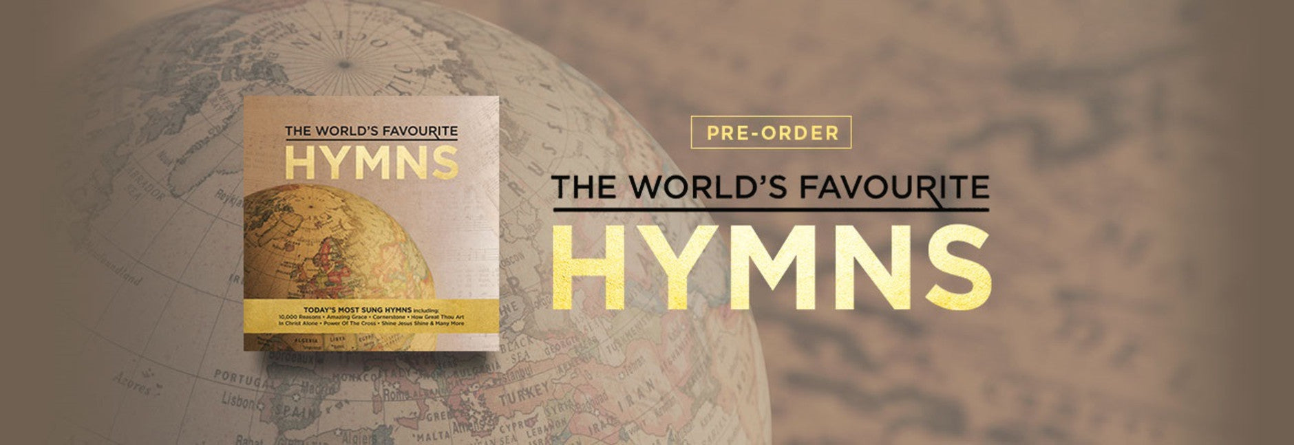 The World's Favourite Hymns CD