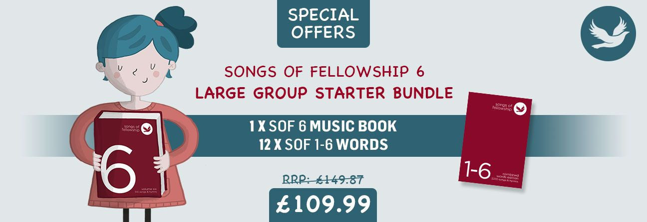 Songs Of Fellowship Special Offer Large Group