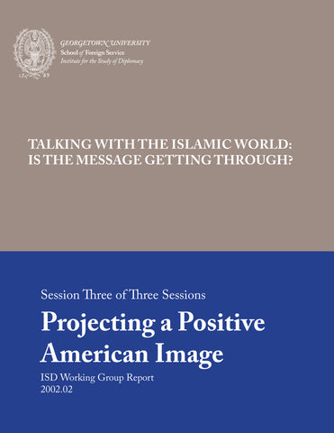 Projecting a Positive American Image