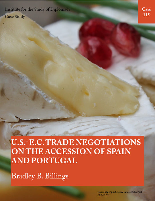 Case 115 - U.S.-E.C. Trade Negotiations on the Accession of Spain and Portugal