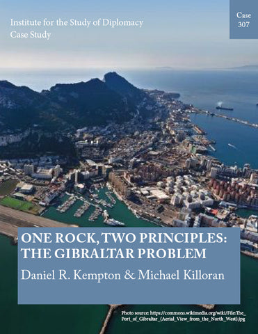 Case 307 - One Rock, Two Principles: The Gibraltar Problem