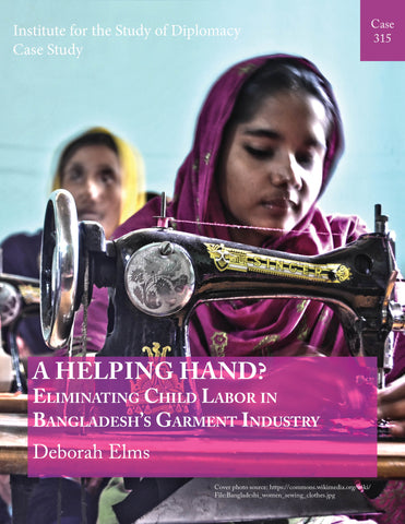 Case 315 - A Helping Hand? Eliminating Child Labor in Bangladesh's Garment Industry