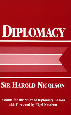 """Diplomacy"" by Sir Harold Nicolson"