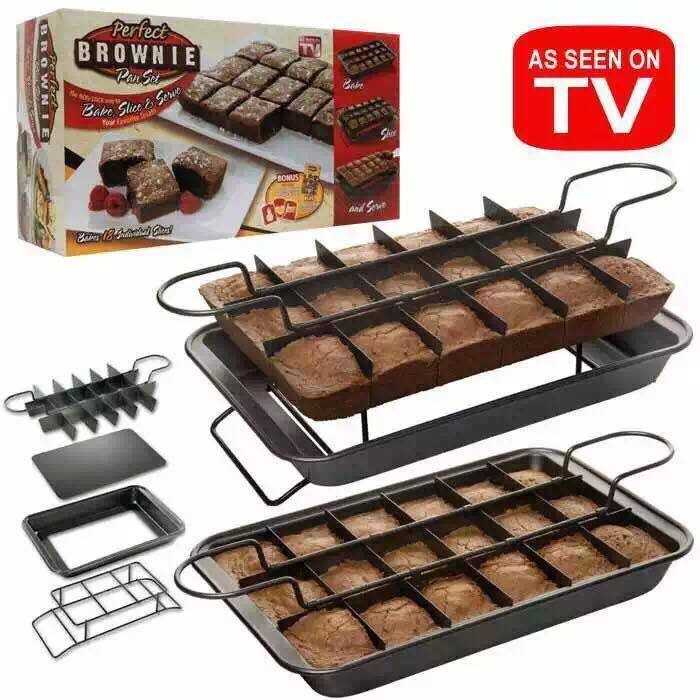 Perfect Brownie maker (bagesæt)