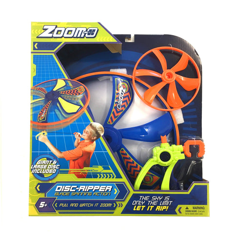 Zoom-o Disc Ripper Blade Spinning Action